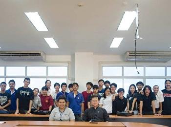 นักศึกษาสาขาออกแบบผลิตภัณฑ์อุตสาหกรรม จัดโครงการสัมมนาเชิงปฏิบัติการ