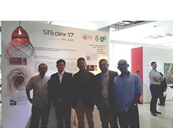 ผลงานของนักศึกษาสาขาวิชาการออกแบบผลิตภัณฑ์อุตสาหกรรม คณะเทคโนฯ ได้เข้าร่วมแสดงผลงานการออกแบบในงาน STEDEX 17 ณ มหาวิทยาลัยปุตรา มาเลเซีย Universiti Putra Malaysia (UPM)