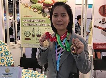 ผศ.ดร.รจนา จันทราสา คว้า 3 รางวัล จากการนำผลงานวิจัยเข้าร่วมประกวด